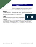 Copy of CIO CEB Vendor Selection Scorecard