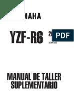 YZF R6 2001 Manual de Tayer