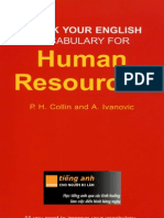 Check Your English Vocabulary for Human Resources