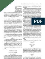 Decreto-Lei n.º 247/2009, de 22 de Setembro - Carreira, percurso de progressão profissional e diferenciação técnico-científica