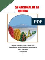 Politica de La Quinua