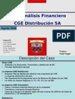 Caso CGE Compañia de Generacion Eléctrica