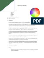 Significado de Los Colores Web