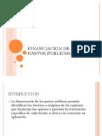 Financiacion de Los Gastos Publicos