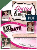 Lipstick n Camo Flyer