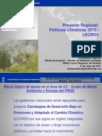2. Contexto El Proyecto PNUD