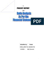 Final Project Ratio Analysis