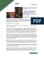 Warren Buffett Charity Lunch CNBC Interview, June 24, 2009