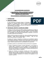 Examen Especial sobre los diferentes Sistemas Administrativos y Operativos en el Aspecto Deportivo de la Institución