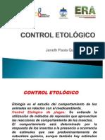 control etológico