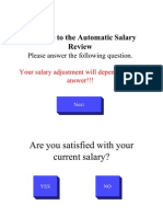 Funny Salary Review Question a Ire