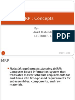 3 MRP Concepts - Chapter 3