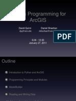 Python for Arc Gis