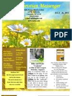 July 26 Newsletter