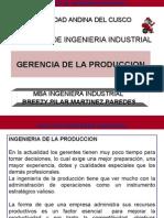 Gerencia de La Produccion