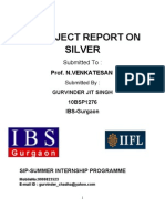 A Project Report on Silver (1)