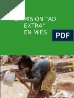 La MisiÓn Ad Extra en Mies 2