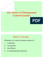 Chap 1 the Nature of Management Control Systems