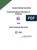 2010 NIC Labor Agreement