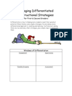Engaging Differentiated Instructional Strategies