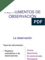Instrumentos Observacion Por cia