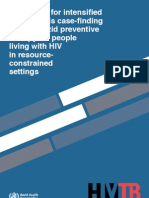 Guidelines for Intensified TB Case Finding and Isoniazid Preventative Therapy_eng