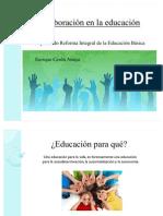Colaboracion en La Educacion MTRO. ENRIQUE