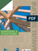 Manuel simplifié de l'EuroCode 5 (Bois)