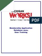 MADb/JSDb User Training Manual Rev 5