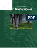 Metroparks Planned Giving Catalog