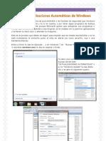 Quitar actualizaciones automáticas de Windows 7