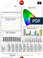 Sharp LC-70LE732U CNET review calibration results