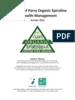 Organic Spirulina Health Management