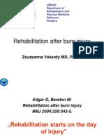 Rehabilitation After Burn Injury-notes