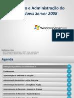 Instalação e administração do windows server 2008