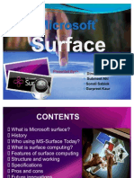 MS-Surface by Dinesh