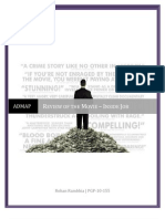 ADMAP - Review of the Movie - Inside Job