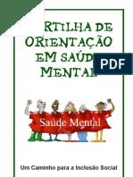 CARTILHA DE ORIENTAÇÃO EM SAÚDE MENTAL