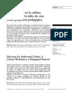 Formación Cultura Audiovisual