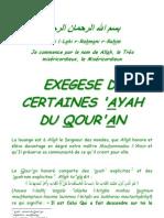 12947639 Exegese de Certaines Aya Du Qouran1