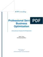 Project Management White Paper Bus-opt-rtm-cons