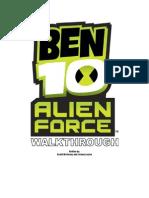 Ben10 Alien Force - General - Walk Through