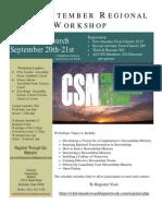 CSN September Regional Workshop