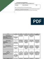 Proposal Marksheet