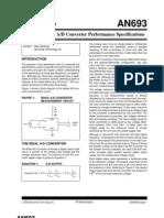 Understanding A/D Converter Performance Specifications