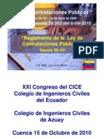 Ley Contrataciones Publicas Venezuela Red.pdf2010