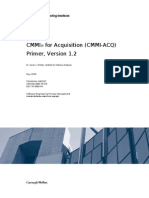 CMMI for Acquisition ACQ Primer, Version 1.2
