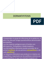 La Dermatofitosis