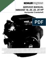 Kohler CH25 Manual