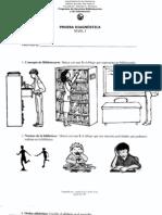 Prueba Diagnostica Sobre Destrezas Bibliotecarias - 2 y 3ro